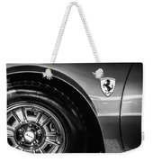 1971 Ferrari Dino Gt Wheel Emblem -027c Weekender Tote Bag