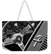 1971 Iso Grifo Can Am Steering Wheel Emblem Weekender Tote Bag