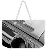 1972 Chevrolet Chevelle Taillight Emblem Weekender Tote Bag