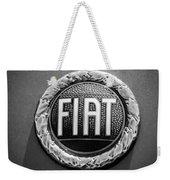 1972 Fiat Dino Spider Emblem Weekender Tote Bag