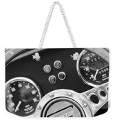 1972 Ginetta Steering Wheel Emblem Weekender Tote Bag