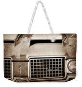 1972 Oldsmobile Grille Emblem Weekender Tote Bag