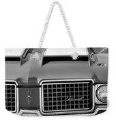 1972 Oldsmobile Grille Weekender Tote Bag