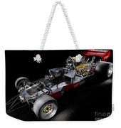 1974 Lola T332  F5000 Race Car V8 5 Litre Chassis Weekender Tote Bag