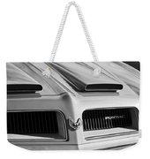 1974 Pontiac Firebird Grille Emblem Weekender Tote Bag