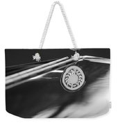 1979 Clenet Hood Ornament -183c Weekender Tote Bag