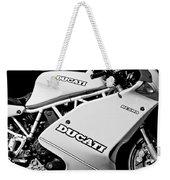 1993 Ducati 900 Superlight Motorcycle Weekender Tote Bag