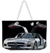 Mercedes Benz S L S  Gull-wing Weekender Tote Bag