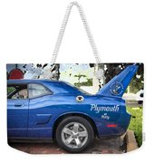 2010 Plymouth Superbird  Weekender Tote Bag