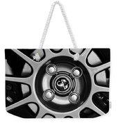 2013 Fiat Abarth Wheel Emblem Weekender Tote Bag