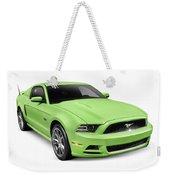 2013 Ford Mustang Gt 5.0 Sports Car Weekender Tote Bag