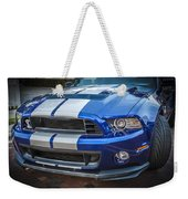 2013 Ford Mustang Shelby Gt 500  Weekender Tote Bag