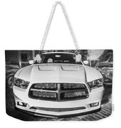 2014 Dodge Charger Rt Painted Bw Weekender Tote Bag