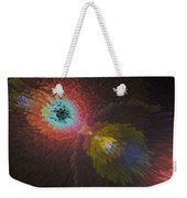 3d Dimensional Art Abstract Weekender Tote Bag