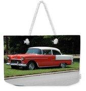 55 Chevy Weekender Tote Bag