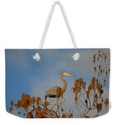 7- Great Blue Heron Weekender Tote Bag