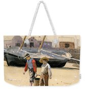 A Basket Of Clams Weekender Tote Bag