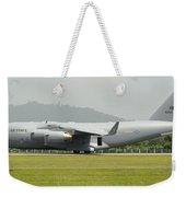 A C-17 Globemaster IIi Of The U.s. Air Weekender Tote Bag