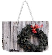 A Country Christmas Weekender Tote Bag