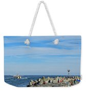 A Day At The Beach 2 Weekender Tote Bag