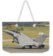 A French Air Force Rafale Jet Weekender Tote Bag