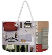 A Group Of Household Objects Weekender Tote Bag