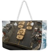 A Landing Craft Air Cushion Exits Weekender Tote Bag