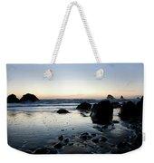 A Landscape Of Rocks On The Coast Weekender Tote Bag