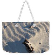 A Line In The Sand Weekender Tote Bag