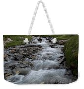 A Mountain Stream In Vanoise National Weekender Tote Bag