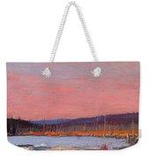 A Northern Lake Weekender Tote Bag