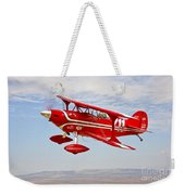 A Pitts Special S-2a Aerobatic Biplane Weekender Tote Bag