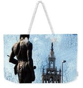 A Plaza View Weekender Tote Bag