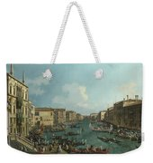 A Regatta On The Grand Canal Weekender Tote Bag
