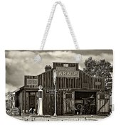 A Simpler Time Sepia Weekender Tote Bag