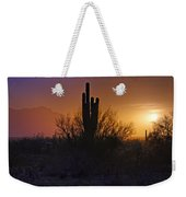 A Sonoran Morning  Weekender Tote Bag