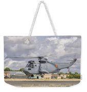 A Spanish Navy Sh-3d Helicopter Weekender Tote Bag