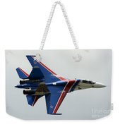A Sukhoi Su-27 Flanker Of The Russian Weekender Tote Bag