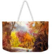A Walk In The Fall Weekender Tote Bag