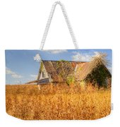 Abandoned Farmhouse In Field 3 Weekender Tote Bag