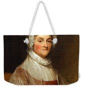 Abigail Smith Adams By Gilbert Stuart Weekender Tote Bag