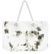 Abraham Lincoln Paint Drops Weekender Tote Bag