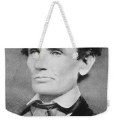 Abraham Lincoln Weekender Tote Bag by Unknown