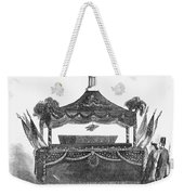 Abraham Lincoln's Funeral Weekender Tote Bag