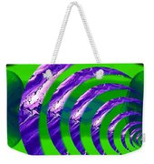 Abstract 123 Weekender Tote Bag