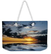 Abstract 129 Weekender Tote Bag