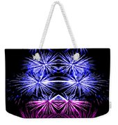 Abstract 135 Weekender Tote Bag