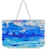 Abstract Beach Weekender Tote Bag