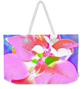 Abstract Colorful Plant Weekender Tote Bag