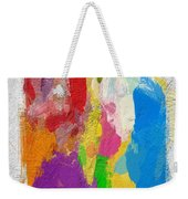 Abstract Colors Weekender Tote Bag